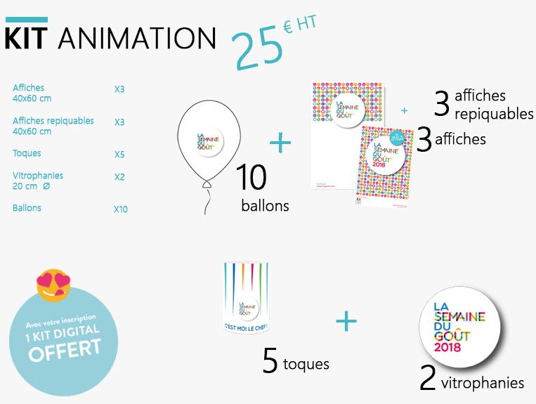 Kit animation semaine du goût