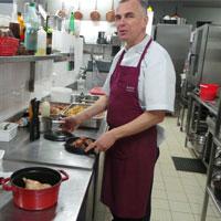 Benoît DEBAILLY Chef de l'Auberge la Gaillotière - 44690 Chateau-Thebaud
