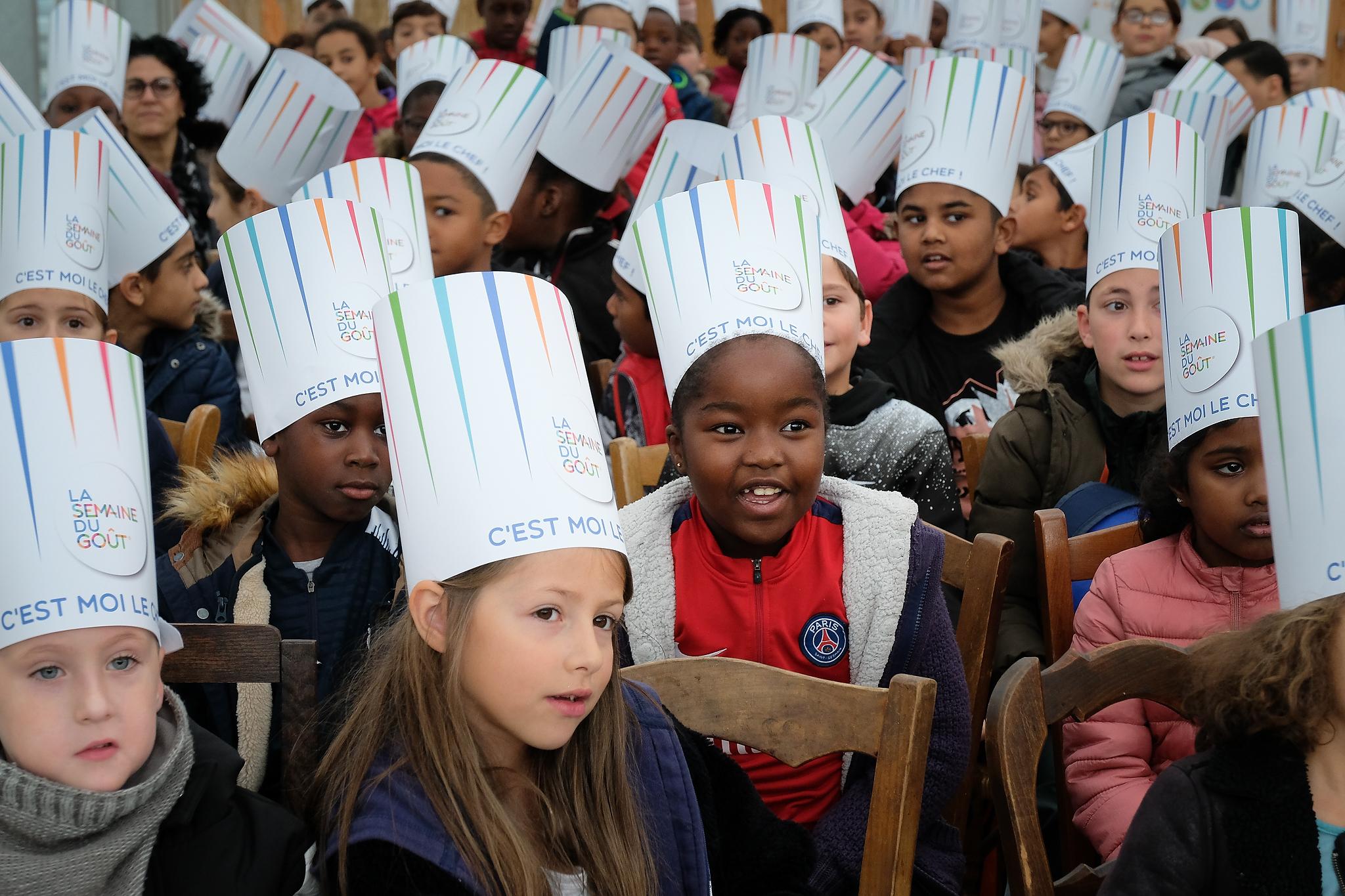 La Semaine Du Gout_Serre Pedagogique De Saint Ouen